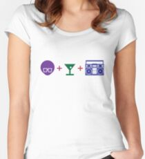 Pre-party Formula in Color! Women's Fitted Scoop T-Shirt