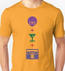 Formula for a Pre-party in Color! Unisex T-Shirt