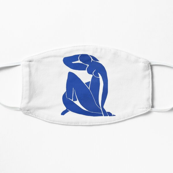 Henri Matisse - Blue Nude 1952 - Original Artwork Reproduction Mask