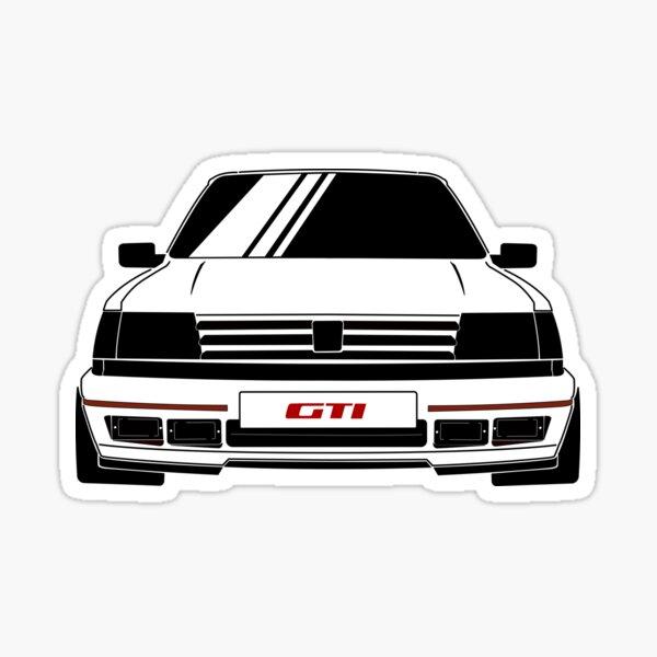 Tuning Sticker Car Stickers Peugeot Gti Logo,ref59 Sticker Auto