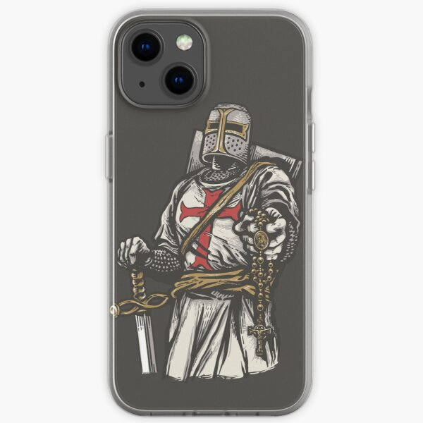 Rosary Crusader iPhone Case iPhone Soft Case