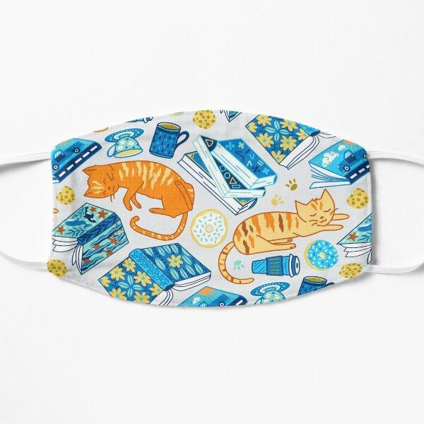 Tea Party Cat-Book Vibes!  Flat Mask