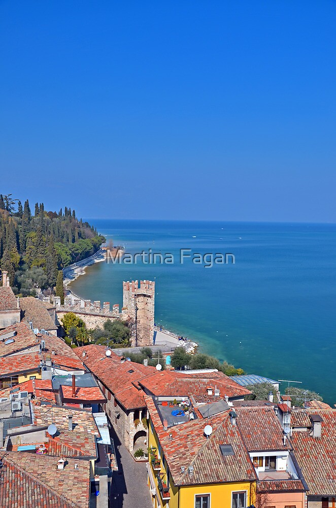 View from Sirmione Castle by Martina Fagan