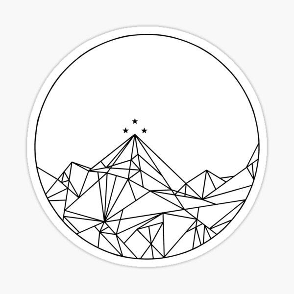 Night Court Insignia / Rhysand's Tattoo Sticker