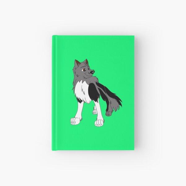 Grey Wolf - Faelan Hardcover Journal