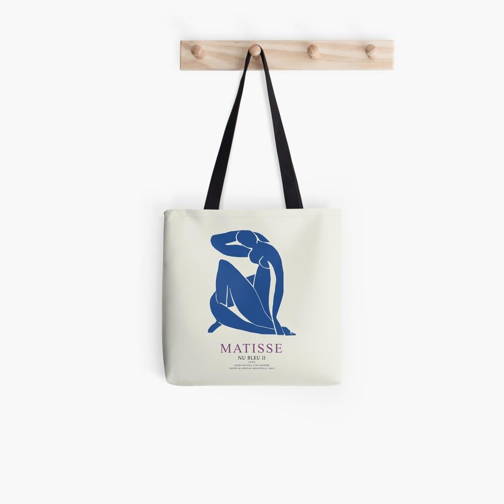 Henri Matisse Nu Bleu II (Blue Nude II) 1952 Artwork for Wall Art, Prints, Posters, Tshirts, Men, Women, Youth Tote Bag
