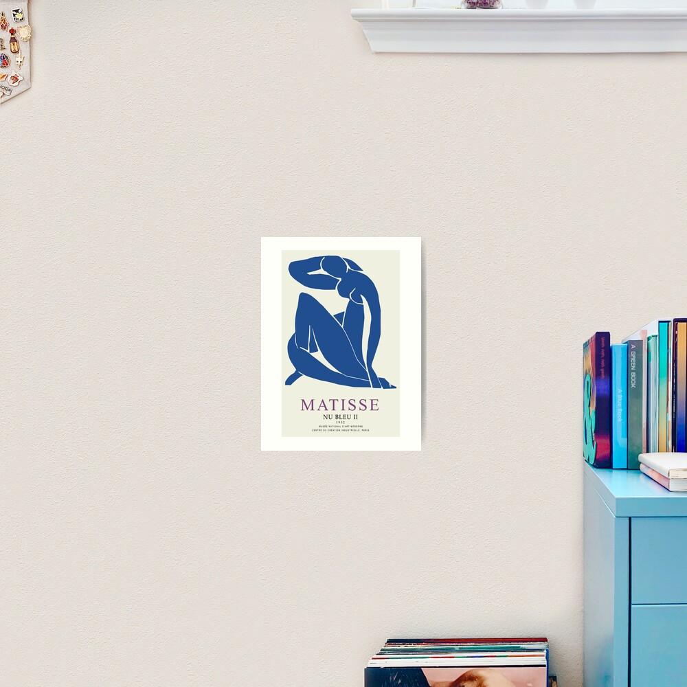 Henri Matisse Nu Bleu II (Blue Nude II) 1952 Artwork for Wall Art, Prints, Posters, Tshirts, Men, Women, Youth Art Print