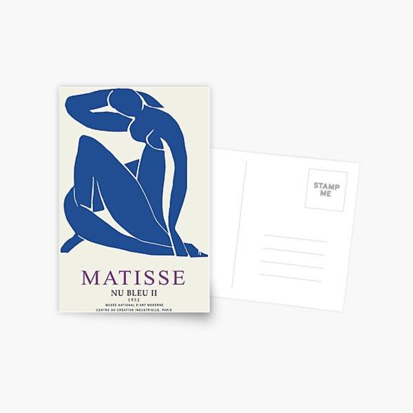 Henri Matisse Nu Bleu II (Blue Nude II) 1952 Artwork for Wall Art, Prints, Posters, Tshirts, Men, Women, Youth Postcard