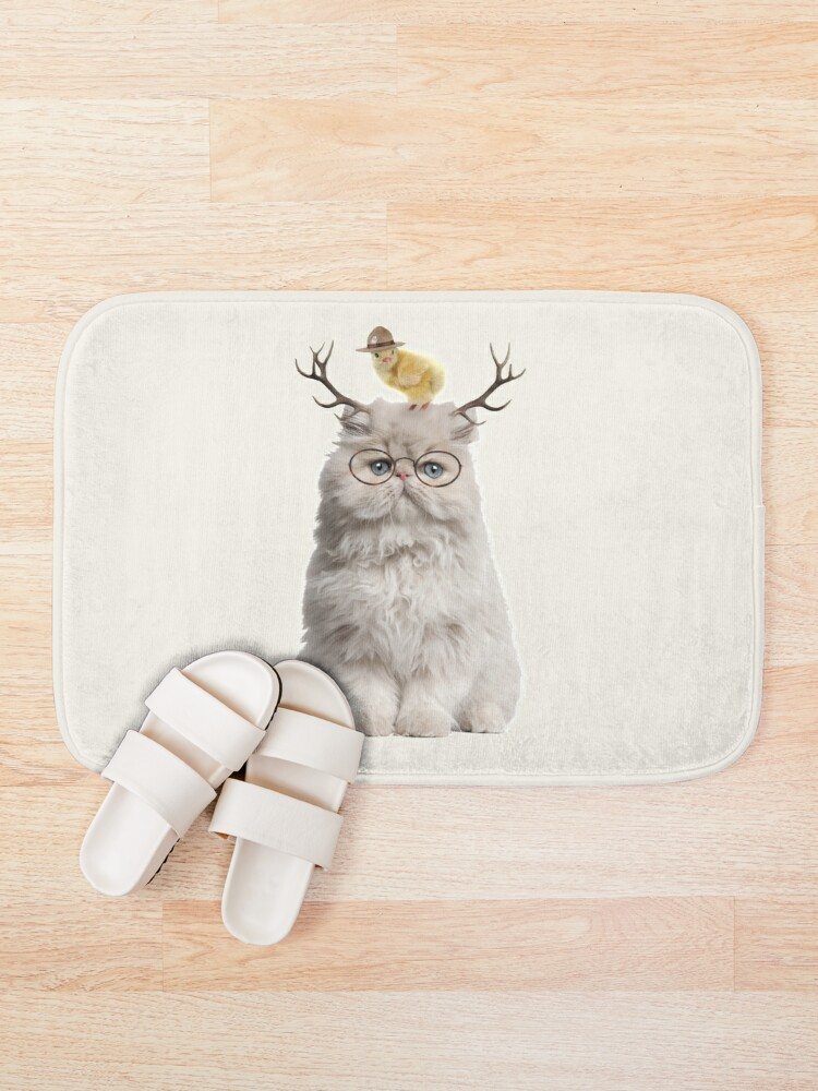 Alternate view of Cat that Chick Bath Mat