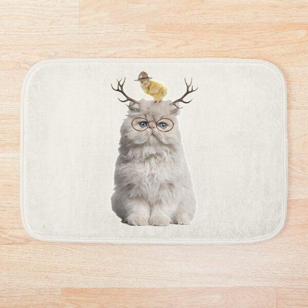 Cat that Chick Bath Mat