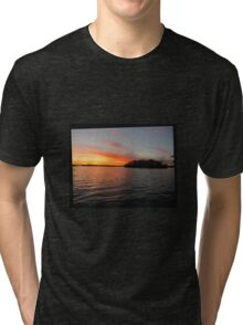 Rocket Powered Island Tri-blend T-Shirt