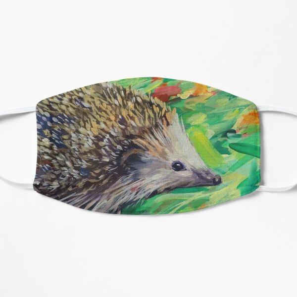 Hedgehog on a Green Field Mask