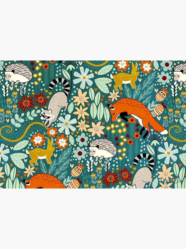 Textured Woodland Pattern  by TigaTiga