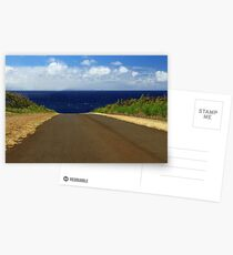 The Road To Maui Postcards