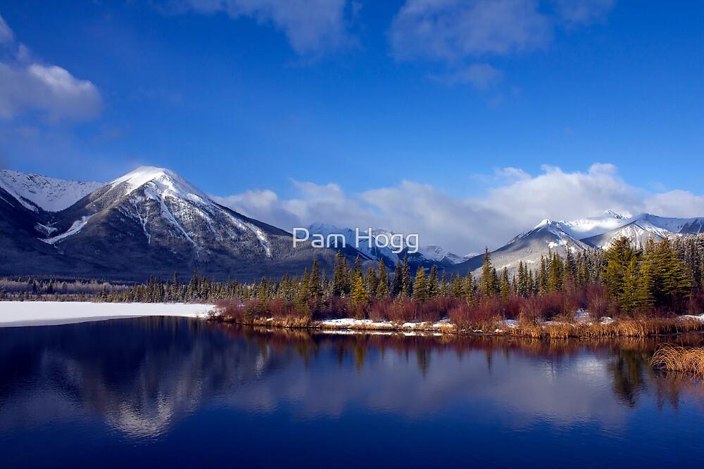 Spring in Banff by Pam Hogg