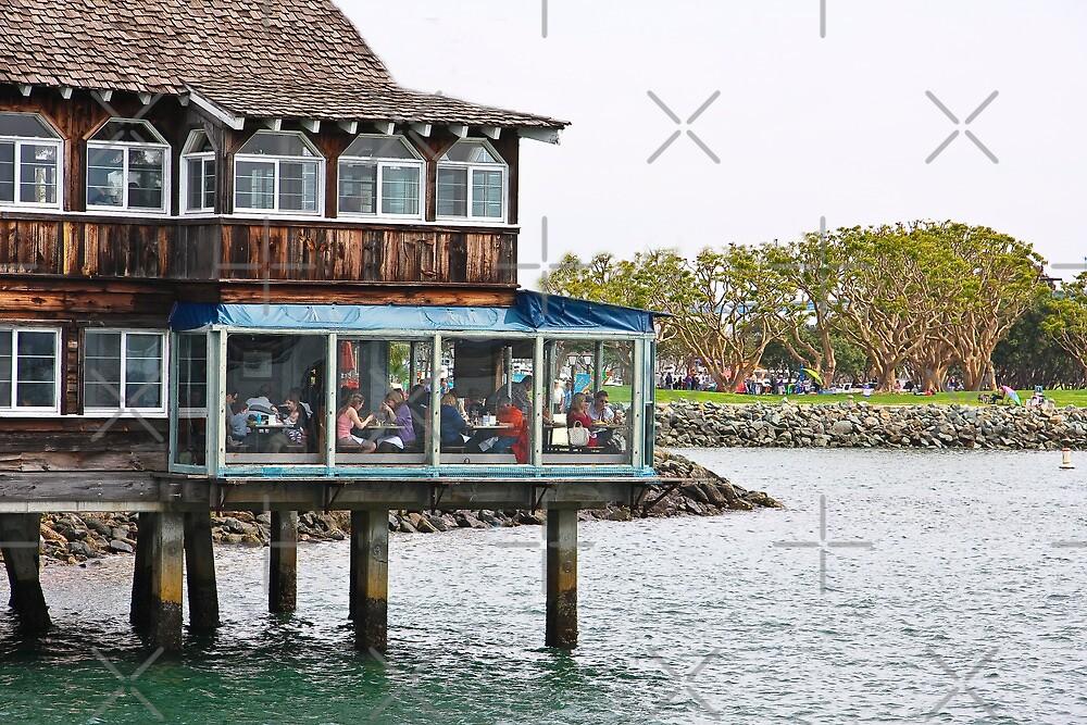 Restaurant on Stilts by Heather Friedman