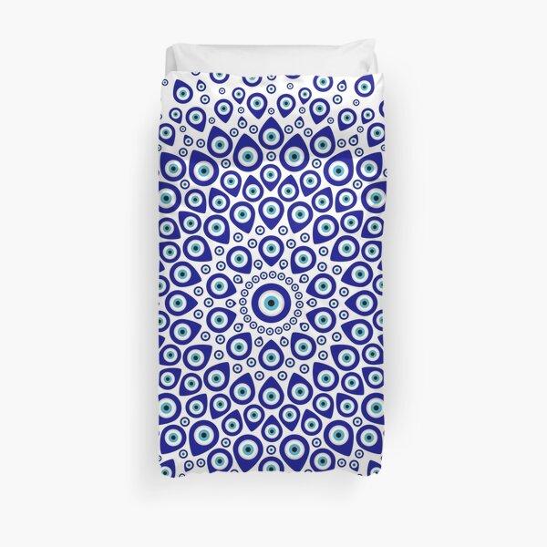 Nazar - Turkish Eye Circular Ornament #1 Duvet Cover