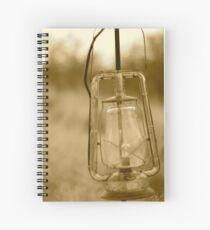 old lantern Spiral Notebook
