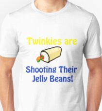 Twinkies are shooting their Jelly Beans T-Shirt T-Shirt
