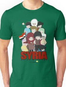 SYRIA - We're With You Unisex T-Shirt