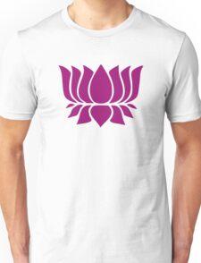 lotus flower zen yoga Unisex T-Shirt