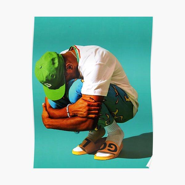 Green Boy Poster