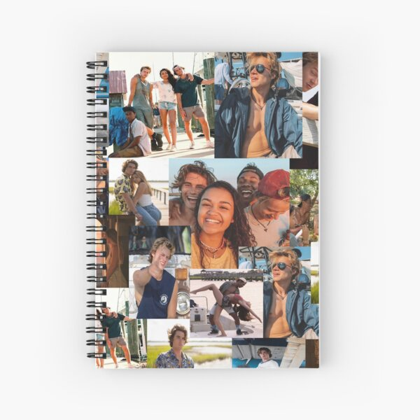 Outer Banks Collage  Spiral Notebook