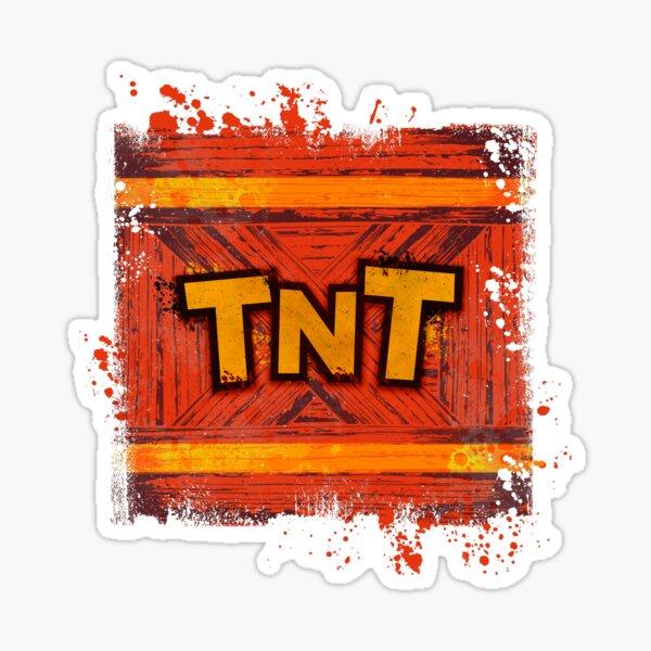 TNT BOX explosive Sticker