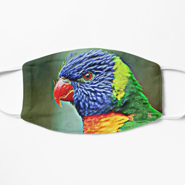 Lories also known as honey parrot Mask
