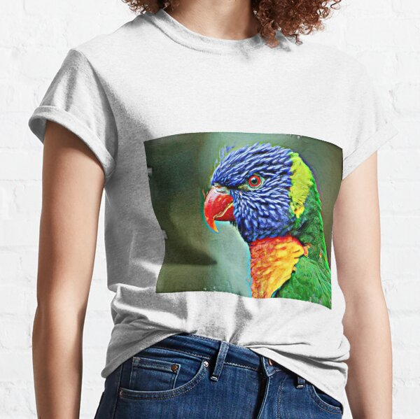 Lories also known as honey parrot Classic T-Shirt
