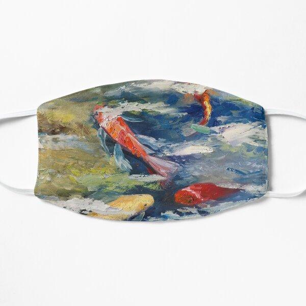Koi Fish Oil Painting Small Mask