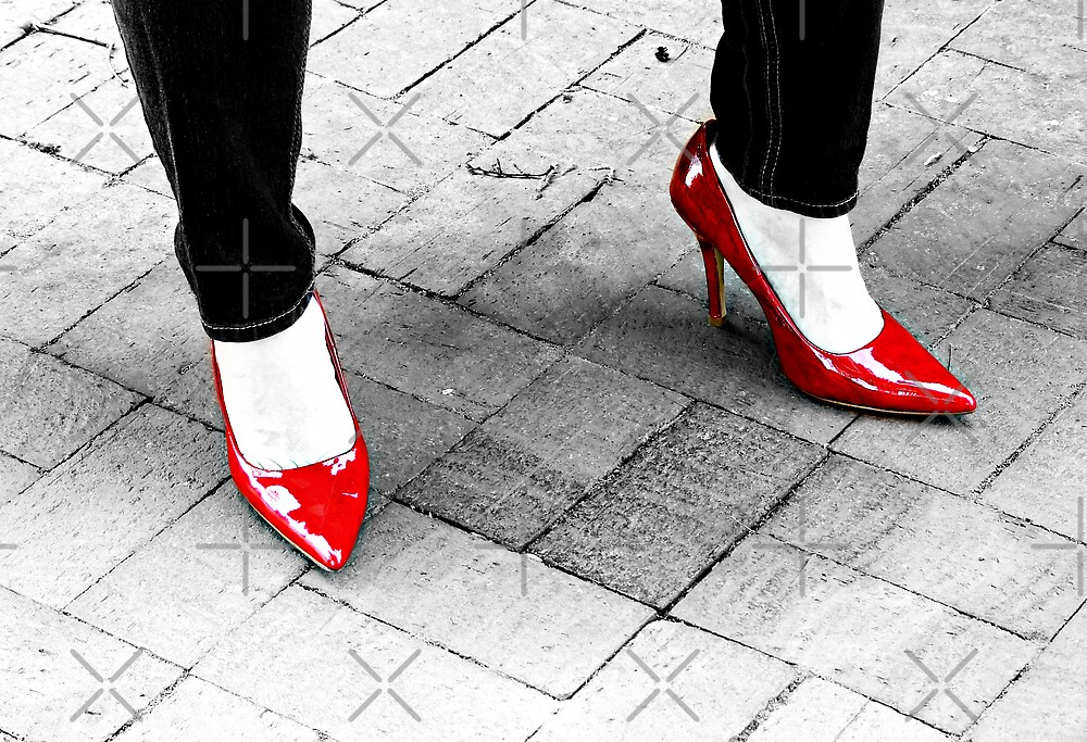Two Red Shoes by Scott Mitchell