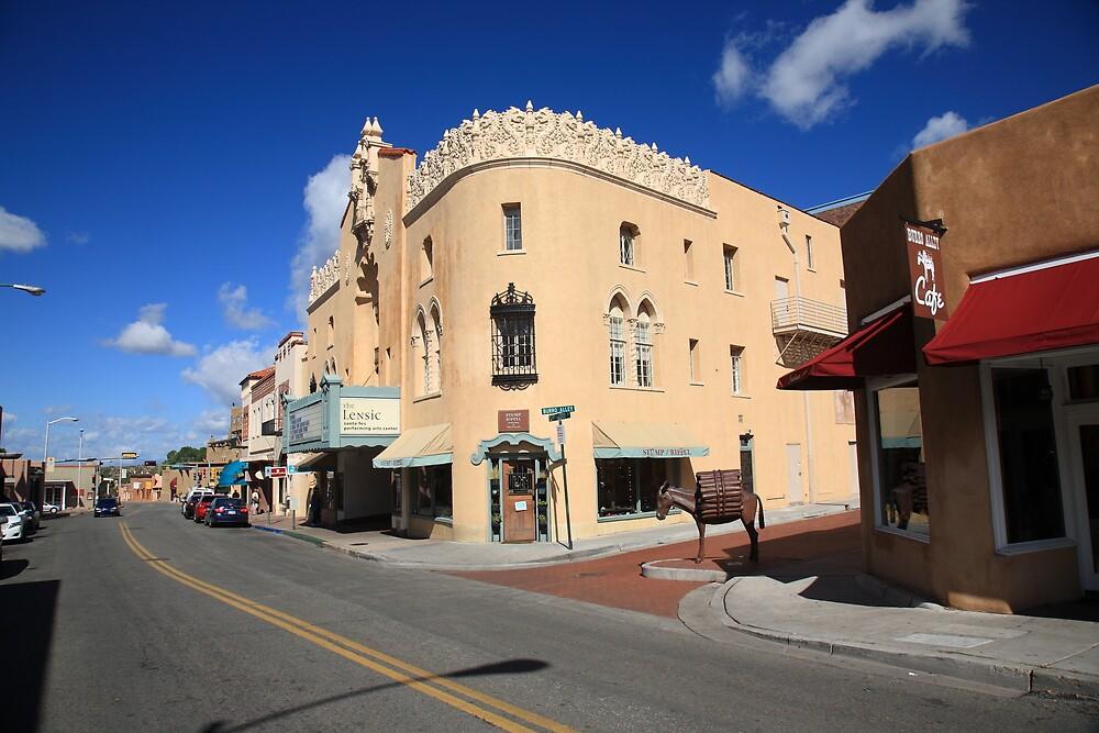 Santa Fe Street Scene by Frank Romeo