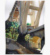 Arroyo Seco Bridge II Poster