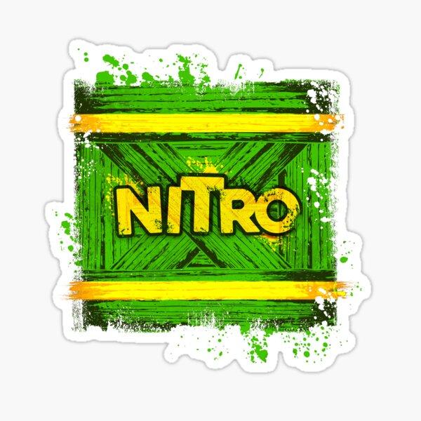 NITRO BOX explosive Sticker