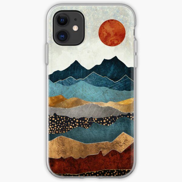 Amber Dusk iPhone Soft Case