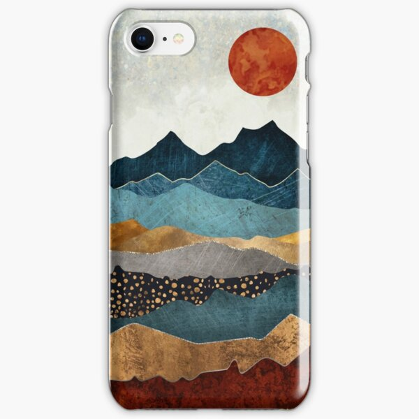 Amber Dusk iPhone Snap Case