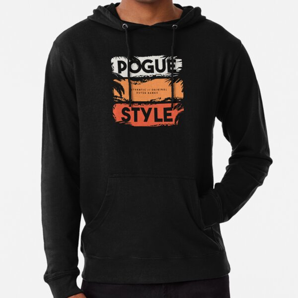 Pogue Style Authentic Original Outer Banks  Lightweight Hoodie