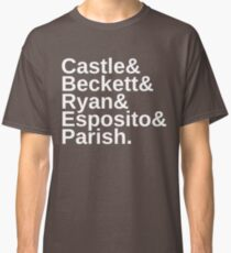 Castle & Beckett & Ryan & Esposito & Parish Classic T-Shirt