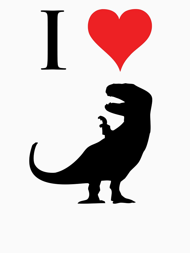 I Love Dinosaurs - T-Rex by jezkemp