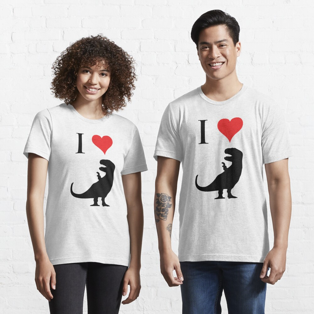 I Love Dinosaurs - T-Rex Essential T-Shirt