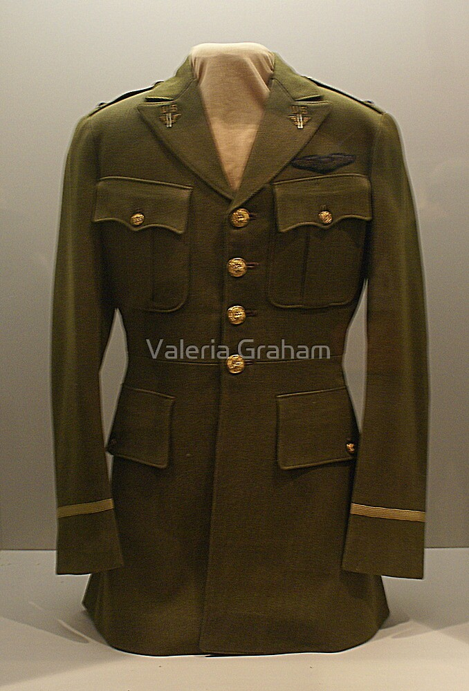 Womens Military Jacket by Valeria Lee