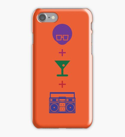 Formula for a Pre-party in Color! iPhone Case/Skin