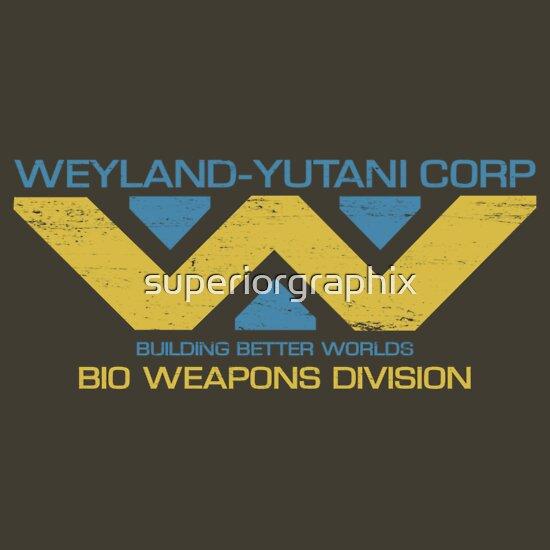 TShirtGifter presents: Weyland Yutani Bio Weapons Division