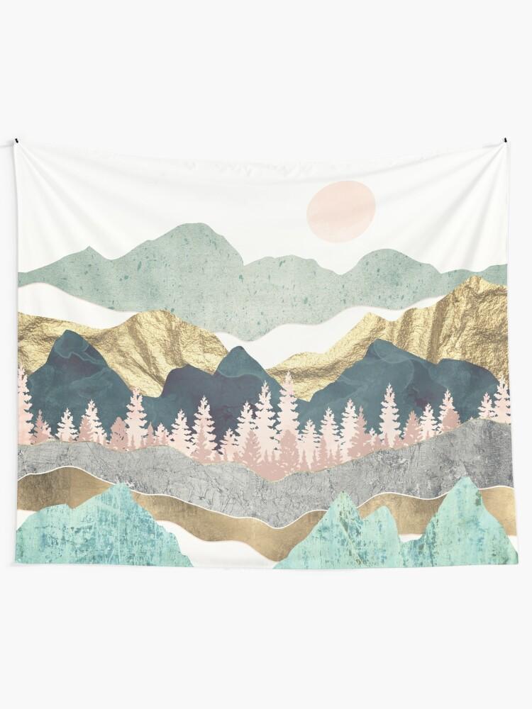 Alternate view of Summer Vista Tapestry