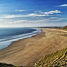Rhossili Beach  by Radeon12345