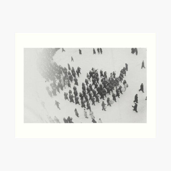 Norilsk, Norillag, Норильск, Норильлаг, Gulag, ГУЛаг Art Print