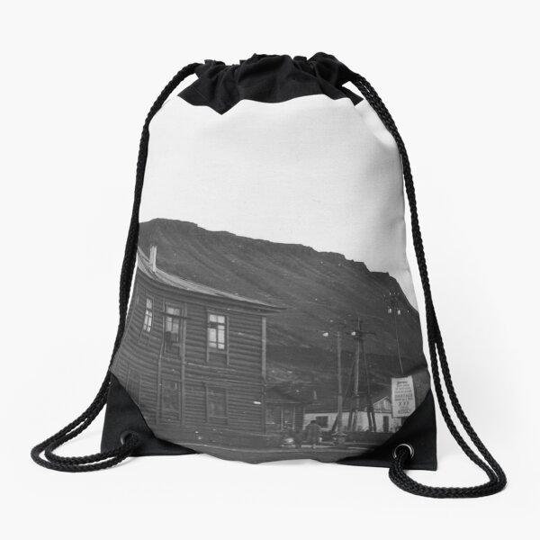 Norilsk, Norillag, Норильск, Норильлаг, Gulag, ГУЛаг Drawstring Bag
