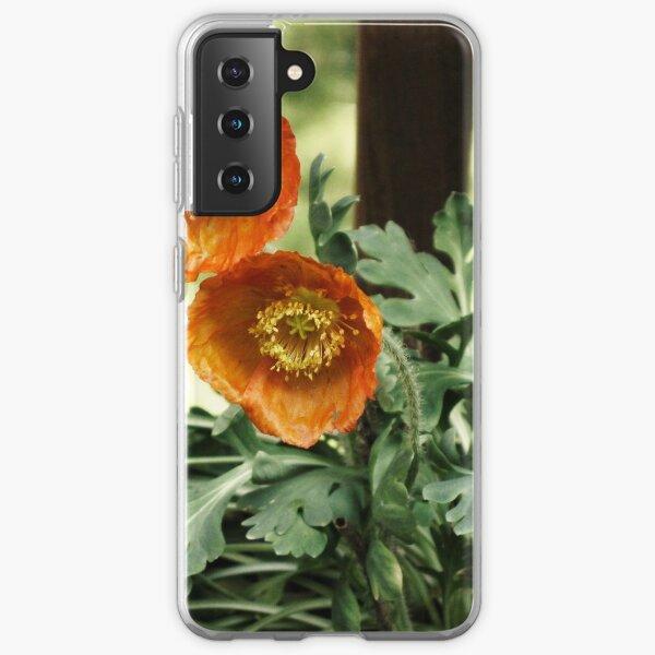 Orange Poppies Samsung Galaxy Soft Case
