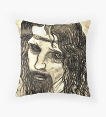 "LEONARDO DI VINCI'S  ""CHRIST"" Throw Pillow"
